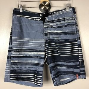 Tommy Bahama Mens Swimming Shorts Size 32 Blue